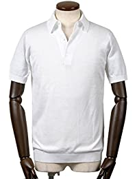 ジョンスメドレー JOHN SMEDLEY / 18SS!シーアイランドコットン30ゲージ半袖ニットポロシャツ『ADRIAN』 (WHITE/ホワイト) メンズ