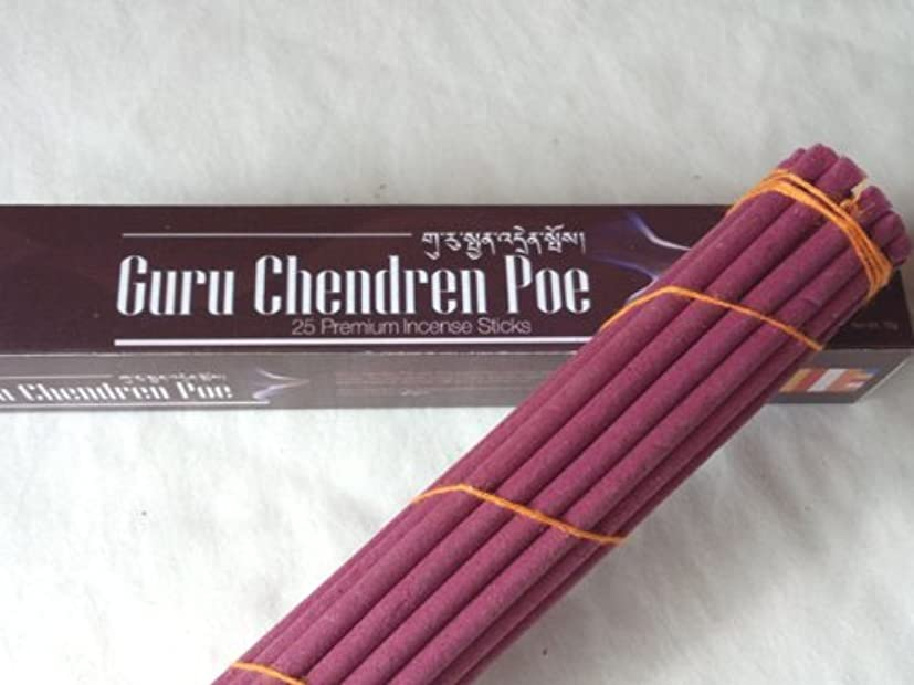 三角形バインド独占チミ香/グルチャンダン BOXタイプ(旧:ホワイトパッケージ) Guru Chan Dreen Poejor - Box  25本入り