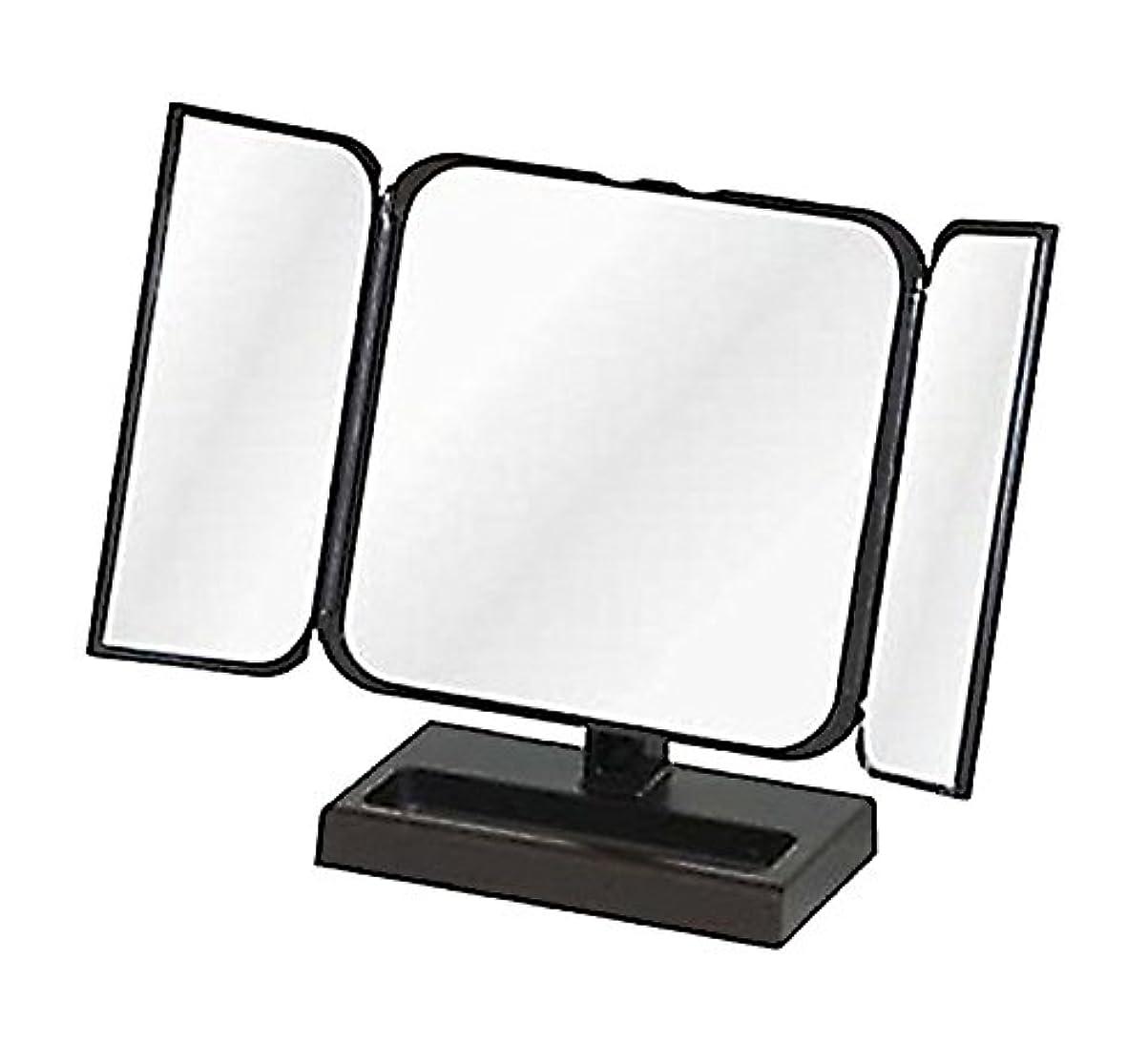 レンディション階下釈義メリー プチ三面鏡 ブラック No.CH-8720