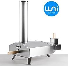 【 シリーズ最新型 】 Uuni ウニ 3/ウッド オーブン/ポータブル ピザ 窯 <正規輸入品・送料無料>《 国産木質ペレット燃料10kg付 》