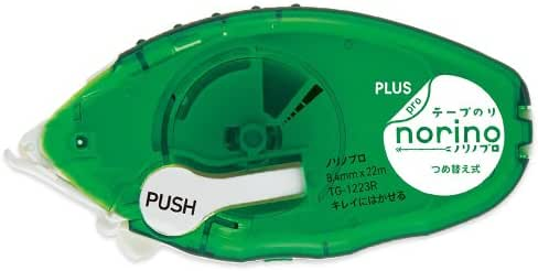 プラス テープのり ノリノプロ キレイにはがせる 本体 TG-1223