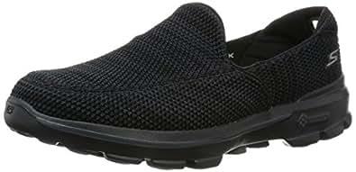 [スケッチャーズ] SKECHERS GO WALK 3 - FITKNIT 54047 BKGY (ブラック/グレー/US 9.5)