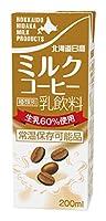 南日本酪農協同 北海道日高ミルクコーヒー 200ml×24本