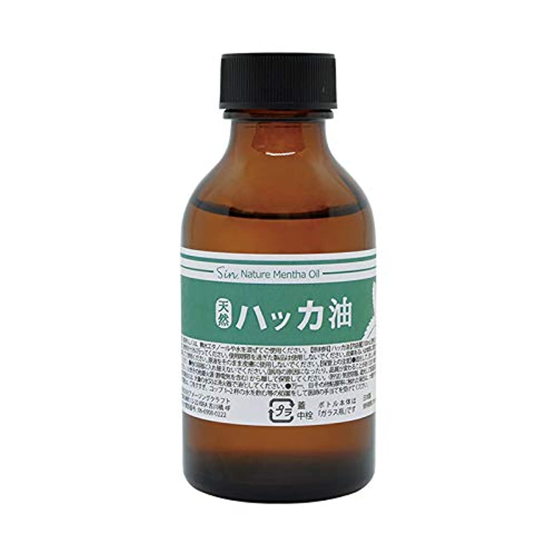 カカドゥ居住者試みる日本製 天然ハッカ油(ハッカオイル) 100ml 中栓?スポイト付き