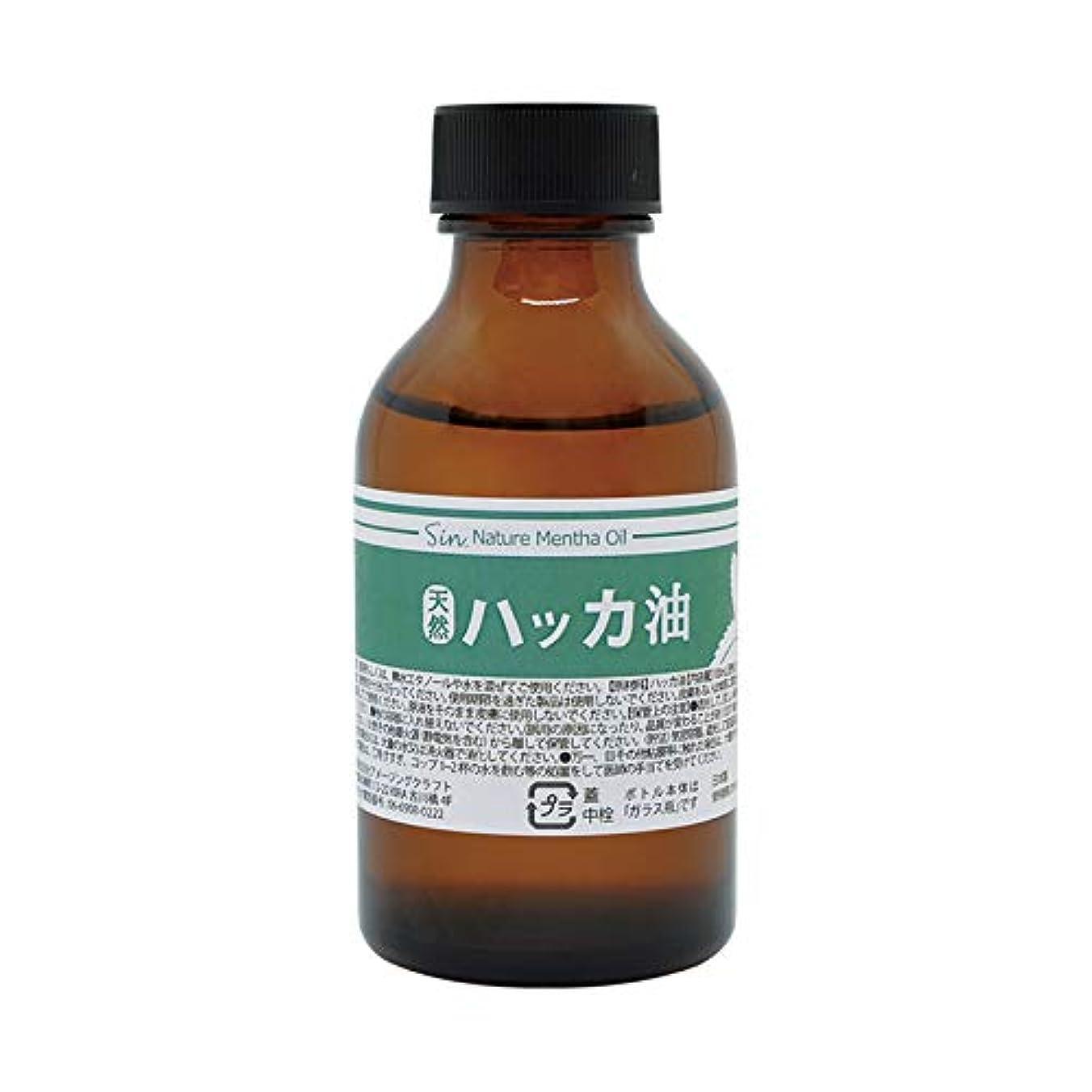 カテナ悲観的二十日本製 天然ハッカ油(ハッカオイル) 100ml 中栓?スポイト付き