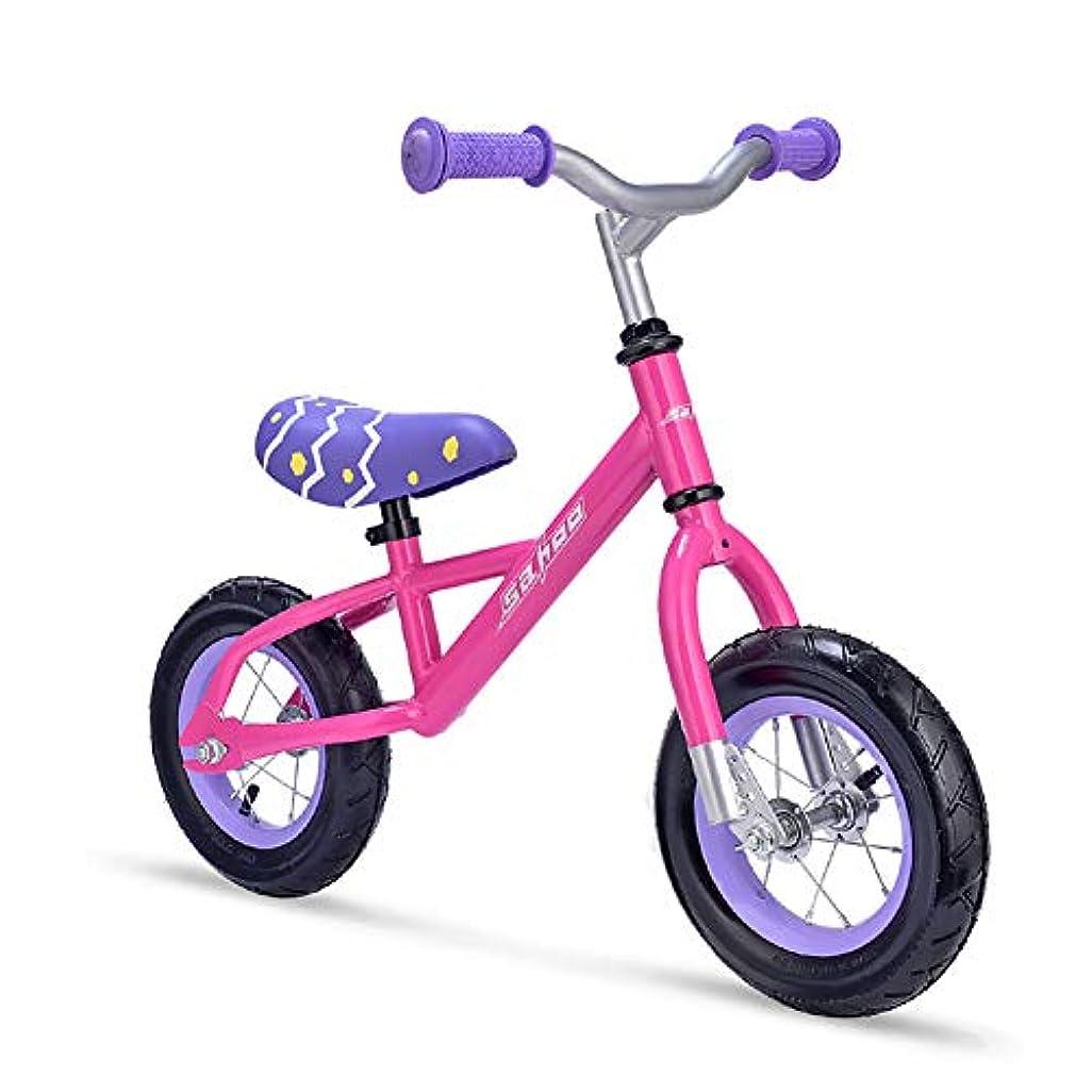 うめき砲兵望むキッズ幼児バランスバイク2,3,4,5歳軽量&アジャスタブルシート高と調整キッズバランスバイク幼児プッシュバイク用無ペダルバランスバイク