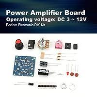 LM386 Super Mini 3V-12V Power Audio Amplifier Board Suit Electronic DIY Kit