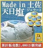 高知アイス 天日塩ジェラート6個/塩アイス/Made in 土佐/ニッポンストア高知