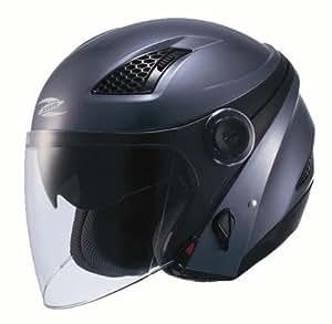 ナンカイ(NANKAI) ZEUS HELMET ゼウス クロノス ジェットヘルメット カラー:ガンメタ サイズ:XL NAZ-211 CRONUS