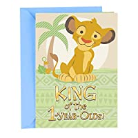 ホールマーク 1歳の誕生日 グリーティングカード