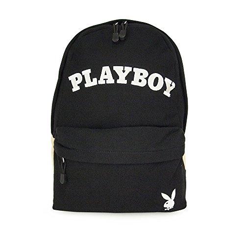 (プレイボーイ) PLAYBOY リュックサック/デイパック スウェットロゴ 52173 (クロ)