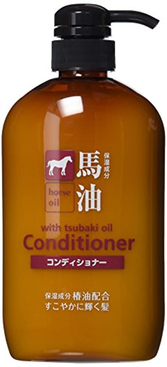 タイムリーな急降下続ける熊野油脂 馬油コンディショナー 600ml