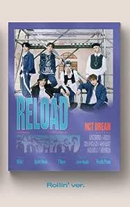 Reload Album+Pre-Oder Benefit+Folded Poster+Extra Photocards Set SM Entertainment NCT Dream Ridin ver.