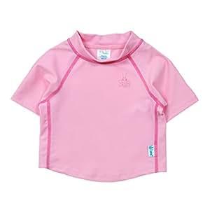アイプレイ iplay ラッシュガード 半袖 UPF50+ UVカット ベビー キッズ 水着 M: 12ヶ月 ピンク