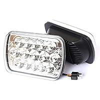 LEDワークライト45W防水LEDライトバーオフロードドライビングライトフォグライト用トラックジープPolaris ATV UTV SUVトラクターボート