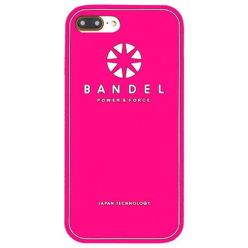 バンデル(BANDEL) ロゴ iPhone 7 Plus専用 シリコンケース [ピンク]
