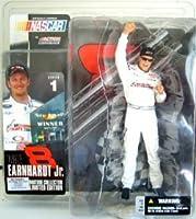 McFarlane Toys NASCAR Series 1 Action Figure Dale Earnhardt Jr. Tribute Concert Talladega Variant White Uniform