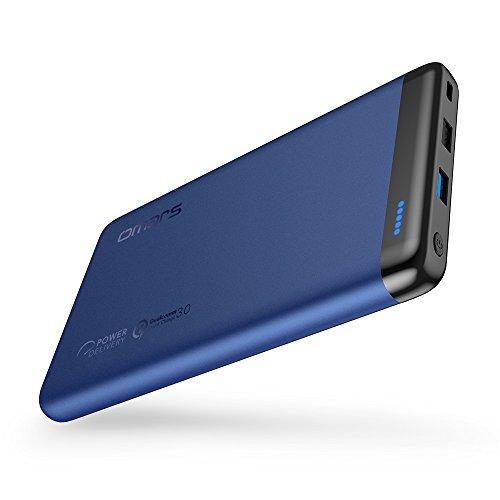 Omars USBC モバイルバッテリー20000mAh 45W Power Delivery 対応 Quick Charge 3.0 対応(USB-Cケーブル付) MacBook/ノートパソコン/iPhone/iPad/Android/Nintendo Switchなど対応可能