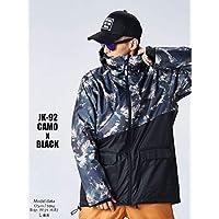 スノーボード ウェア メンズ ジャケット 全12カラー XXS~XLサイズ スノボウェア メンズ レディース 18-19 le-Rhythm リアリズム アシンメトリー 上 2JK81-2JK92
