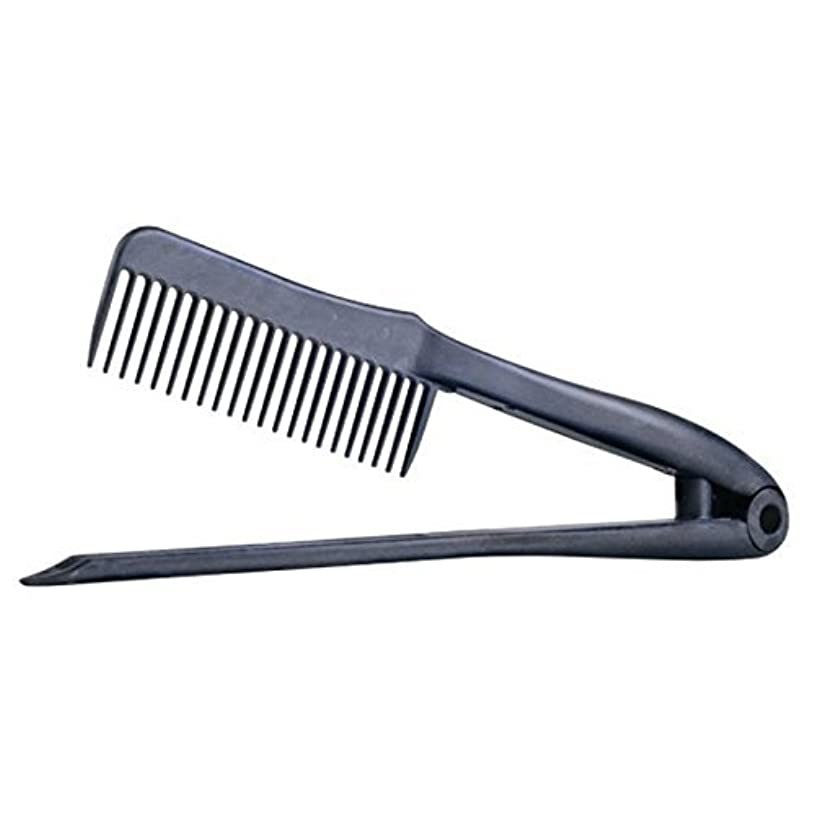 講堂想定鉄道駅Cricket Carbon Straightening Hair Comb [並行輸入品]