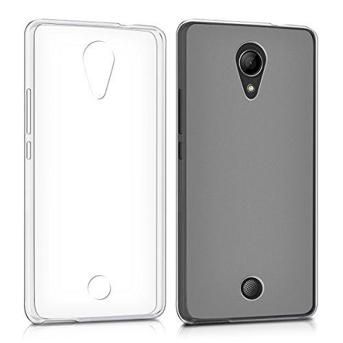 kwmobile クリスタル TPU シリコン ケース Wiko Tommy用 白色 - 携帯電話のシックでシンプルな保護