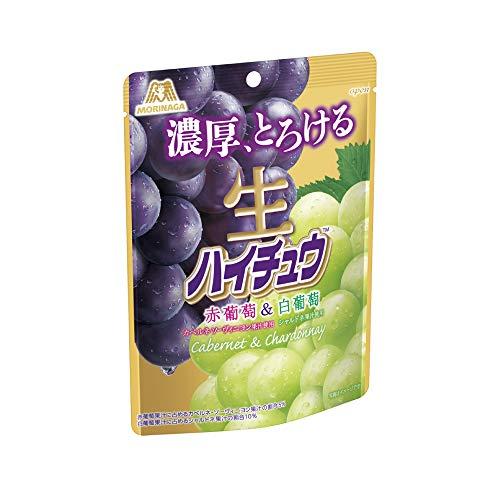 森永製菓 生ハイチュウ<赤葡萄&白葡萄> 60g ×8袋