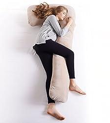 Angel 抱きまくら 柔らかい 7字型 からだにフィット カバー洗える 暖かい 冬に最適