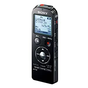 SONY ステレオICレコーダー FMチューナー付 4GB ブラック ICD-UX533F/B