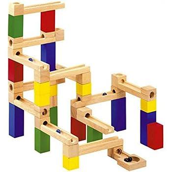 積み木 ビー玉転がし 木のおもちゃ NO01 (B)