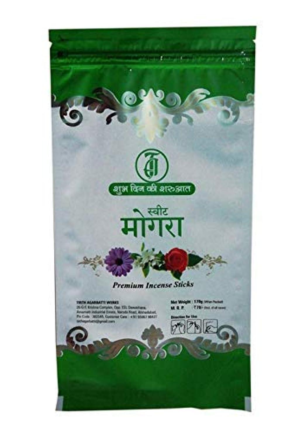 快いスリムきちんとしたTIRTH Sweet Mogra Premium Incense Stick/Agarbatti (170 GM Pack) Pack of 2