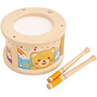 Mokku Mokku 木製 くまさんハッピードラムセット 太鼓 木のおもちゃ