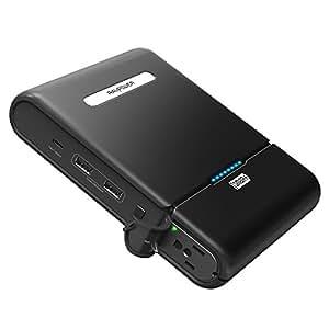 ポータブル電源 RAVPower 27000mAh モバイルバッテリー ( AC出力 + USB 2ポート + Type-Cポート ) MacBook / ノートパソコン / iPhone / iPad / タブレット等対応(緊急・災害時バックアップ用電源)