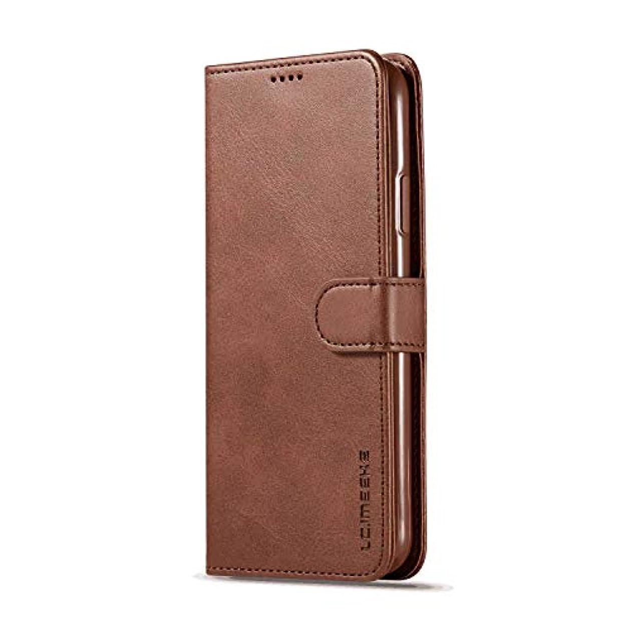 ウガンダインフラ不満PUレザー ケース 手帳型 対応 アイフォン iPhone Xs Max 財布 カバー収納 防指紋 手帳型ケース 本革