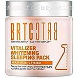 BRTCバイタルライザーホワイトニングスリーピングパック100ml美白シワ改善、BRTC Vitalizer Whitening Sleeping Pack 100ml Wrinkle Care [並行輸入品]
