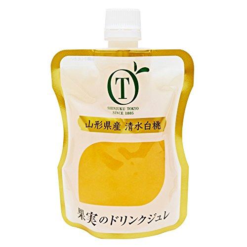 新宿高野 果実のドリンクジュレ 山形県産 清水白桃