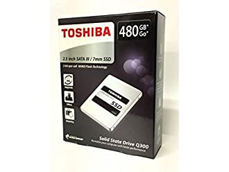 東芝 SSD Q300 シリーズ 480GB SATA R:550MB/s HDTS848AZSTA 7mm Toshiba