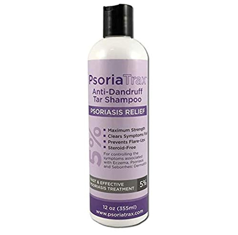 コック症状北東5%コールタール含有 かん癬用シャンプー Coal Tar Psoriasis Shampoo Psoriatrax 25% Coal Tar Solution 12oz Bottles- Psoriasis - Equivalent...
