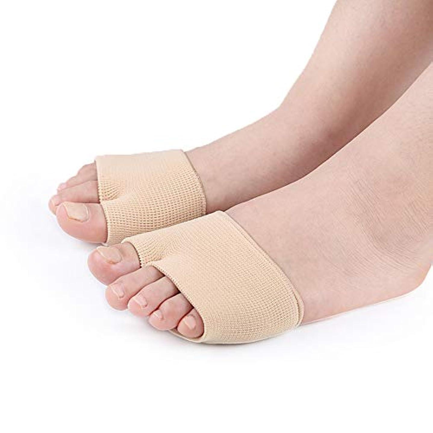 半球十一恐怖症つま先矯正靴下ケアつま先防止重複伸縮性高減衰ダンピング吸収汗通気性ナイロン布SEBS,5pairs,S