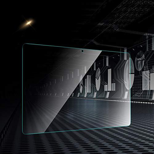 『ELTD Huawei 10.1インチ MediaPad T5 10 タブレット用ガラスフィルム MediaPad T5 10.1インチ保護フィルム 日本旭硝子製 耐指紋 高透過率 気泡ゼロ 硬度9H 日本語説明書付き』の7枚目の画像