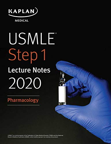USMLE Step 1 Lecture Notes 2020: Pharmacology (Kaplan Test Prep) (English Edition)