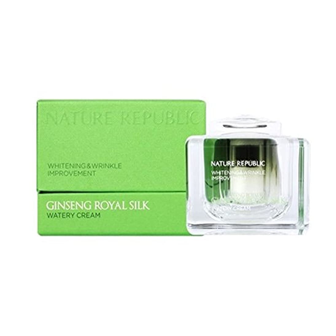 テメリティ目の前のフラフープネイチャーリパブリック(NATURE REPUBLIC)ジンセンロイヤルシルクウォトリクリーム 60ml NATURE REPUBLIC Ginseng Royal Silk Watery Cream 60ml [並行輸入品]