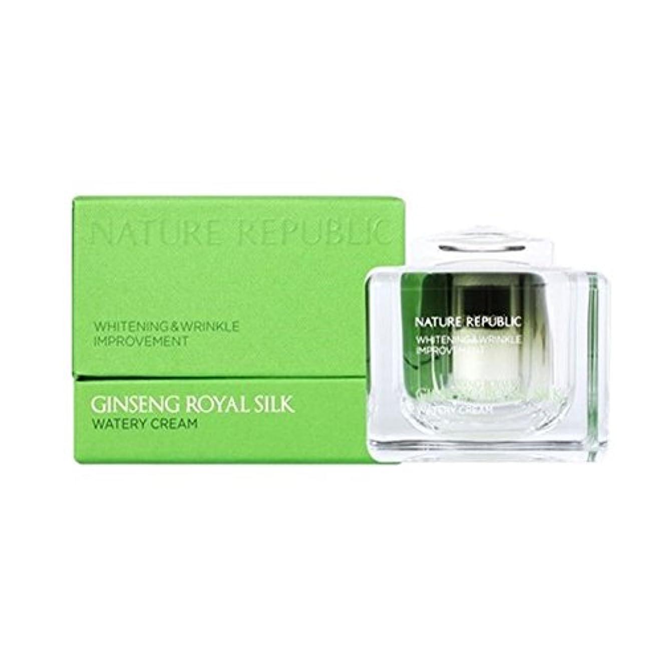 レンダリング昼間代表団ネイチャーリパブリック(NATURE REPUBLIC) ジンセンロイヤルシルクウォトリクリーム 60ml NATURE REPUBLIC Ginseng Royal Silk Watery Cream 60ml [並行輸入品]