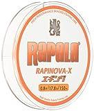 Rapala(ラパラ) PEライン ラピノヴァX エギング 150m 0.8号 17.8lb 4本編み ホワイト/オレンジ RXEG150M08WO