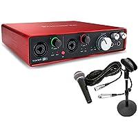 Focusrite(フォーカスライト) USBオーディオインターフェイス Scarlett 6i6 G2(2nd Gen) 宅録セット