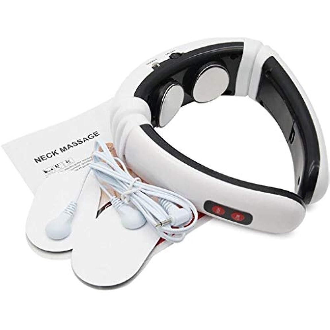 変動する攻撃ネックマッサージャー、インテリジェント電気子宮頸マッサージ、赤外線マッサージは、痛みを和らげる、プレッシャーをリラックス
