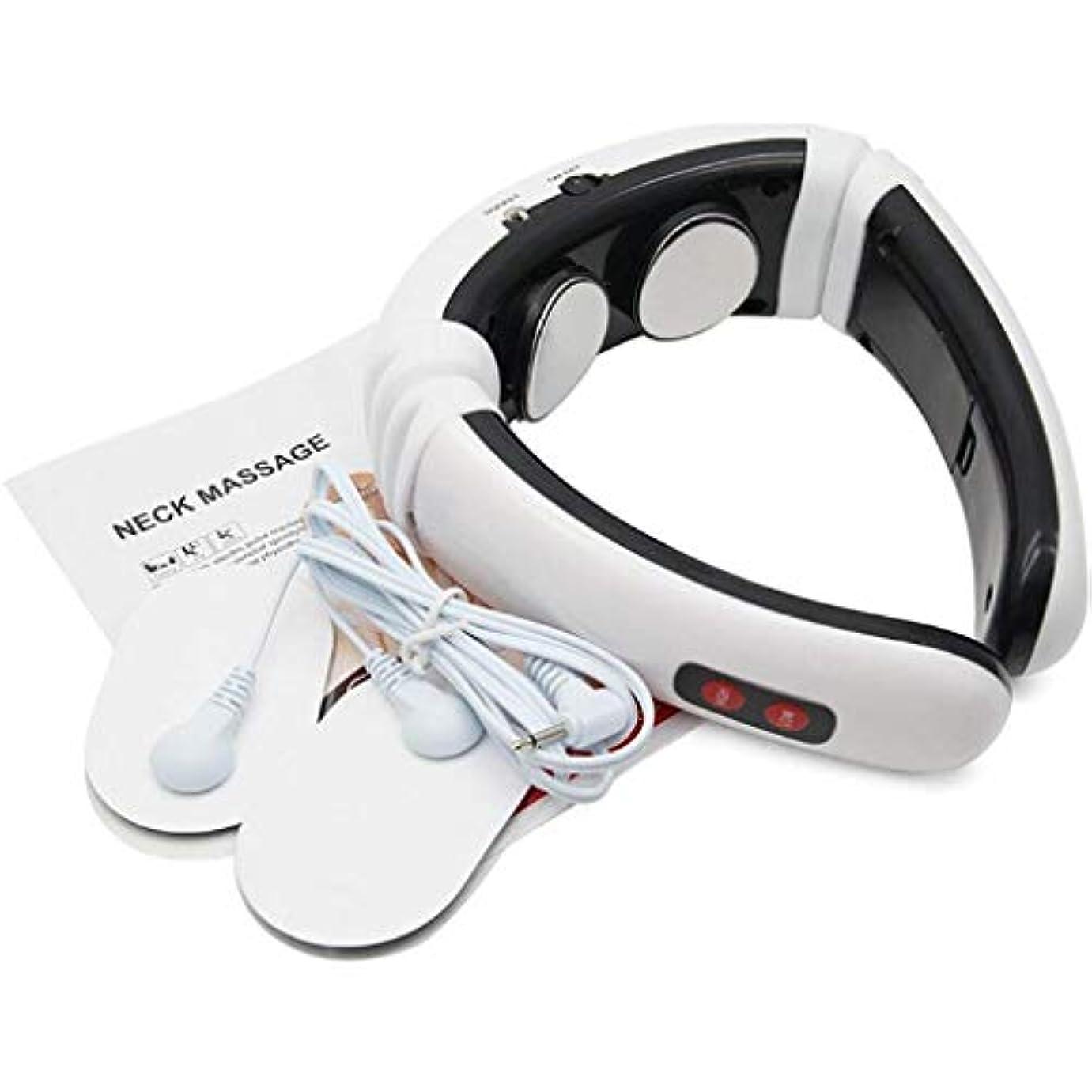 直感保険バンジョーネックマッサージャー、インテリジェント電気子宮頸マッサージ、赤外線マッサージは、痛みを和らげる、プレッシャーをリラックス