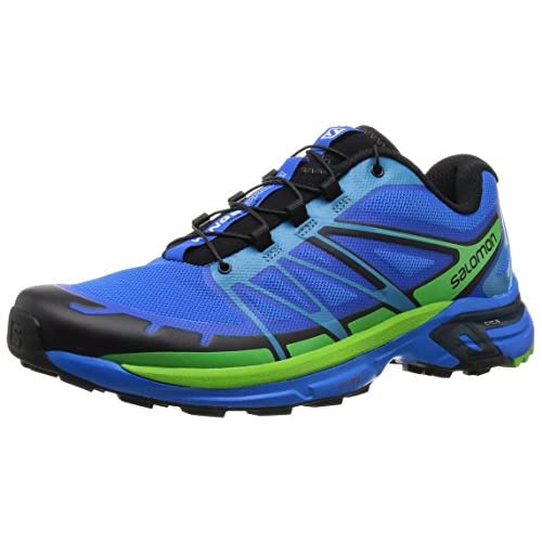 [サロモン] SALOMON トレイルランニングシューズ WINGS PRO 2 L37908400 BRIGHT BLUE / BLACK / TONIC GREEN (BRIGHT BLUE / BLACK / TONIC GREEN/27.5)