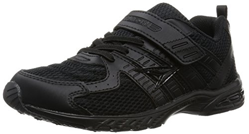 [シュンソク] SYUNSOKU 運動靴 (通学履き) マジックタイプ SJJ 1880 SJJ 1880 B/B (黒/黒/18.0)