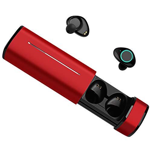 【進化版Bluetooth5.0/800曲連続再生】Bluetoothイヤホン 完全ワイヤレス Chortau タッチボタン ブルートゥース イヤホン 防水IPX5 左右分離型 両耳通話 自動ON/OFF 自動ペアリング 充電/收納ケース付き iPhone&Android対応 2年保証