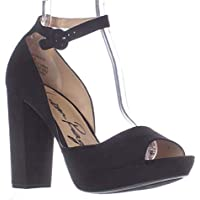 9c4d2ccc75b1 American Rag AR35 Reeta Platform Peep Toe Ankle Strap Heels